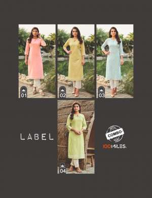 101 miles LABEL KURTI WITH PANT 5