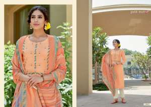 PINK MIRROR CRAYONS ASTONISHING TOP WITH PANT AND DUPATTA