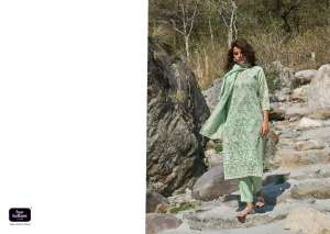 FOUR BUTTONS PEARL 3  KURTI WITH BOTTOM DUPATTA