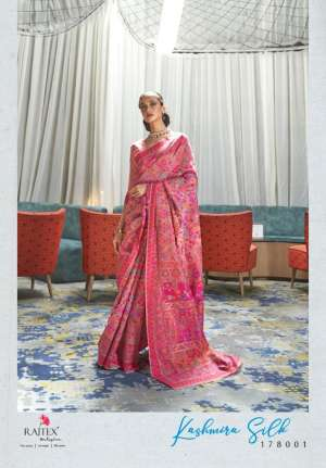 KASHMIRA SILK Modal Kashmiri Weaving By Raj Tex Sarees