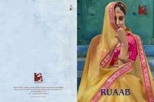 Aloukik RUAAB 1001-1012 Series festive season wedding heavy lehenga concept