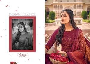 Belliza Designer Studio zarina Pure Pashmina Shawl Digital Print 470-001