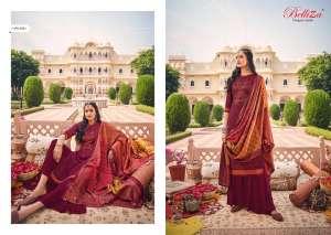 Belliza Designer Studio zarina Pure Pashmina Shawl Digital Print 470-003