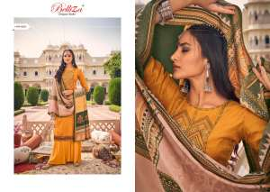 Belliza Designer Studio zarina Pure Pashmina Shawl Digital Print 470-005