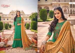 Belliza Designer Studio zarina Pure Pashmina Shawl Digital Print 470-006