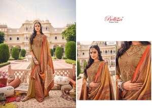 Belliza Designer Studio zarina Pure Pashmina Shawl Digital Print 470-007