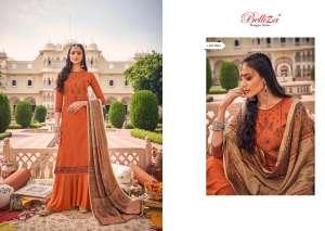 Belliza Designer Studio zarina Pure Pashmina Shawl Digital Print 470-008