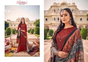 Belliza Designer Studio zarina Pure Pashmina Shawl Digital Print 470-009