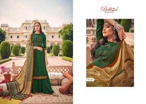 Belliza Designer Studio zarina Pure Pashmina Shawl Digital Print 470-010