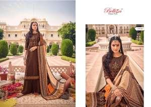 Belliza Designer Studio zarina Pure Pashmina Shawl Digital Print 470-011