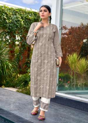 channel 9 SHALEEN KURTI WITH PANT 1001
