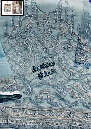 Charizma Designer gulaal Duptta tabby & havey net embroidery work 89004
