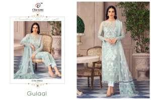 Charizma Designer gulaal Duptta tabby & havey net embroidery work 89006