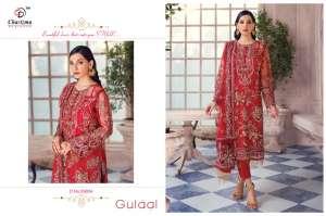 Charizma Designer gulaal Duptta tabby & havey net embroidery work 89010