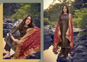 DEEPSY SUIT ahana Pure modal silk Jequard dupatta 61005