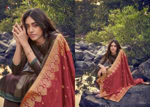 DEEPSY SUIT ahana Pure modal silk Jequard dupatta 61006