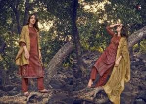 DEEPSY SUIT ahana Pure modal silk Jequard dupatta 61007