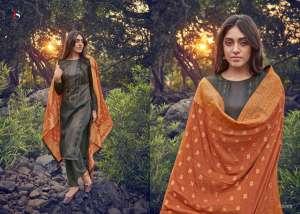 DEEPSY SUIT ahana Pure modal silk Jequard dupatta 61009