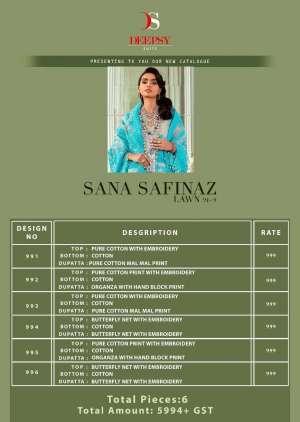 Deepsy Suits SANA SAFINAZ LAWN 21 VOL 2 998