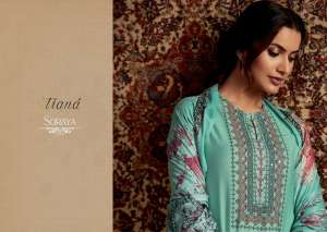 itrana by sahiba soraya 235-232 series 13950 + 5% Gst Extra pashmina digital print exclusive winter collections suits exporter in india