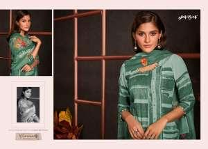 jay vijay amorous vol 2 moga silk with digital print 5241-5250 series 15750 + 5% Gst Extra heavy salwar kameez