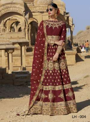 Jodha lH-1 2-7 Series 26220 + 5% GSt Extra gorgeous stylish look attractive collection of lehenga