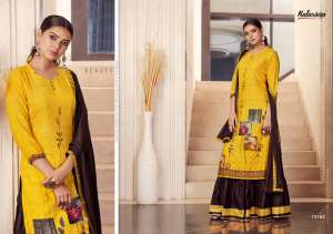Kalaroop venue top with lehenga and chifon dupatta 12165
