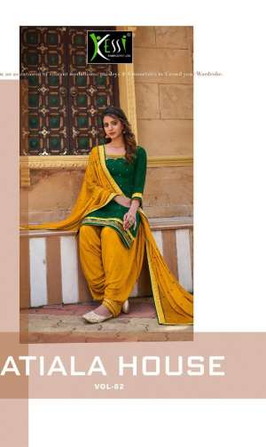 KESSI PATIYALA HOUSE VOL 82 5741-5748 series  6392 + 5% Gst Extra JAM SILK RREGAL LOOK SALWAR SUIT CATALOG