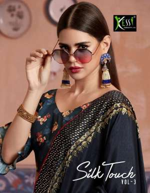 kessi silk touch vol 3 3631-3640 series 7990 + 5% Gst Extra silk printed traditional wear saree online shopping