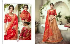 kessi launch sparkle 1331-1338 series 19992 + 5% Gst Extra silk designer lehengas online in india