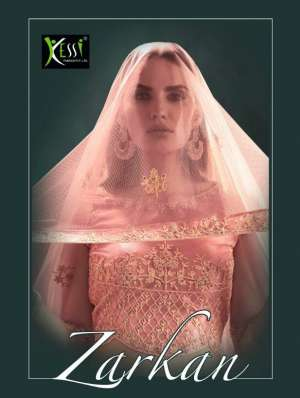 Kessi zarkan classy catchy 3031-3038 Series 27992 + 5% GSt Extra look Lehenga for beautiful bride in factory prices