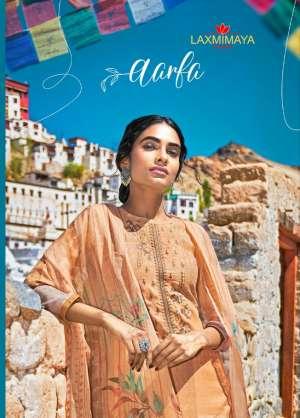 laxmimaya silk mills izabela 1256-1265 series 7310 + 5% Gst Extra pasmina authentic fabric pure wool digital print shawl salwar suit catalog
