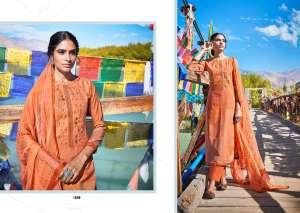laxmimaya silk mills izabela pure wool digital print shawl 1259