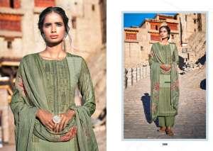 laxmimaya silk mills izabela pure wool digital print shawl 1262