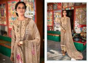 laxmimaya silk mills izabela pure wool digital print shawl 1263
