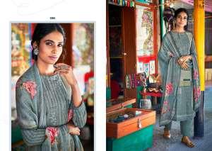 laxmimaya silk mills izabela pure wool digital print shawl 1264