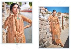 laxmimaya silk mills izabela pure wool digital print shawl 1265