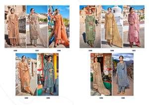 laxmimaya silk mills izabela pure wool digital print shawl 1266