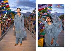 laxmimaya silk mills izabela pure wool digital print shawl 1267