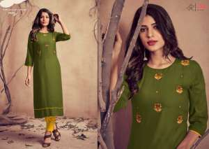 lilly style of india MARIYA WITH PENT 1028