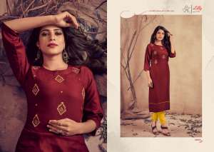 lilly style of india MARIYA WITH PENT 1030