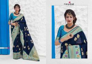 Manjubaa Clothing MAITHILI SILK 3401