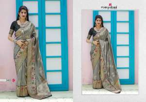 Manjubaa Clothing MAITHILI SILK 3402