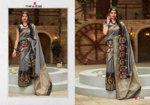 Manjubaa Clothing MAITHILI SILK 3407