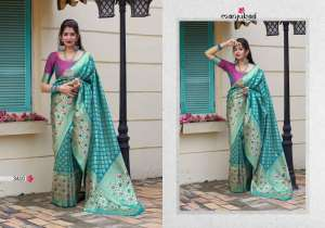 Manjubaa Clothing MAITHILI SILK 3408