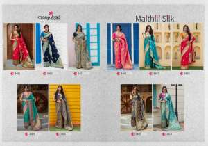 Manjubaa Clothing MAITHILI SILK 3409