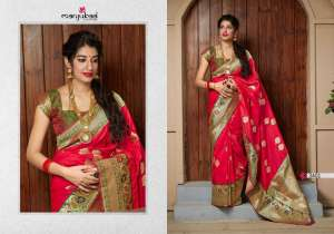 Manjubaa Clothing MAITHILI SILK 3410