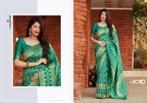 Manjubaa Clothing MANTRA SILK D NO 4801 4801