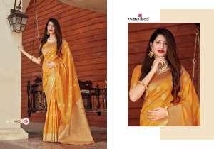 MANJUBAA CLOTHING MISTY SILK SERIES 4401 TO 4410 4404