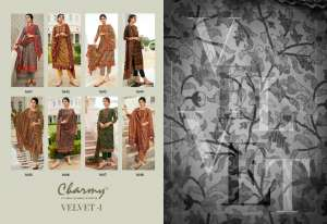 Meera Trendz LLP charmy Velvet-1 1646